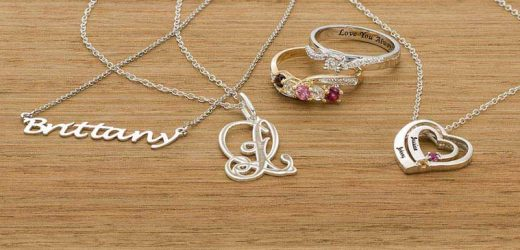 Give Personalized Jewellery to produce a Lasting Impression